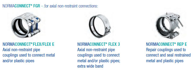 NORMACONNECT® FGR – for axial non-restraint connections